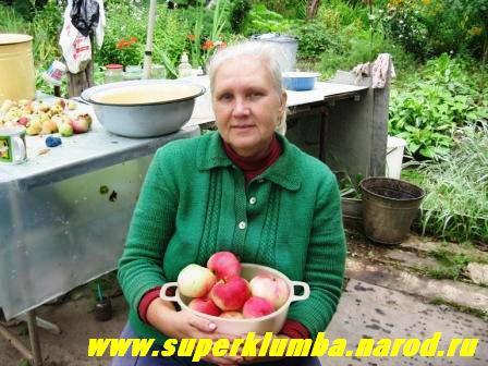 И вот уже созрели молодильные яблочки